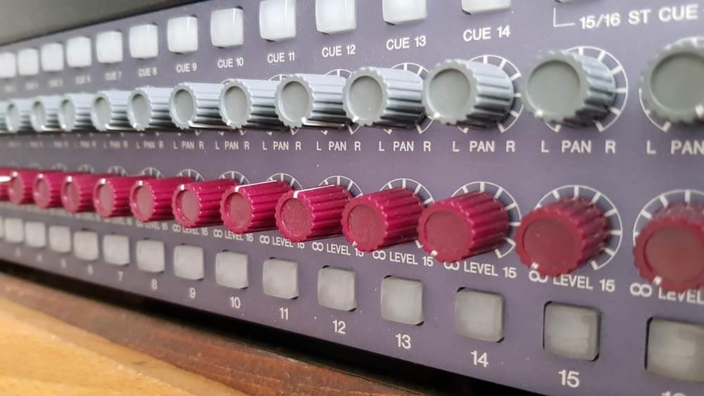 Mastering NEVE mixer
